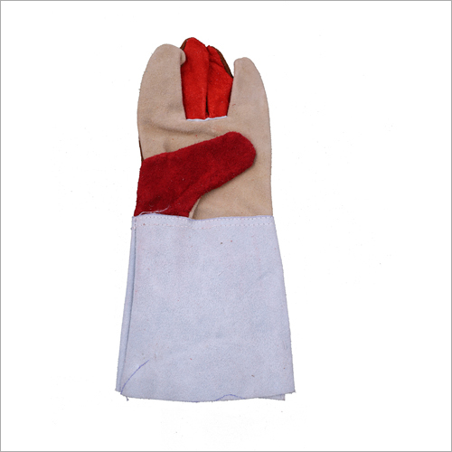 14 Inches Multicolour Thick Leather Hand Gloves