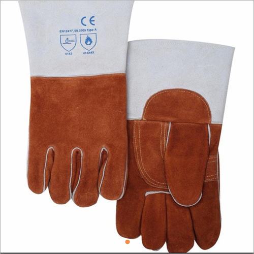 14 Inches Split Leather Hand Gloves