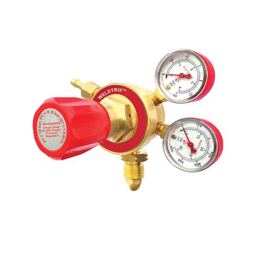 Weldtrix H_Single Stage Double Meter Acetylene Regulator