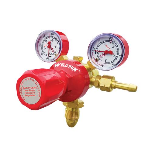 Weldtrix To_Double Stage Double Meter Oxygen Regulator