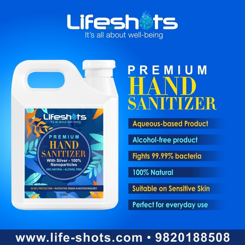 100% Natural And Non-alcohol Hand Sanitizer