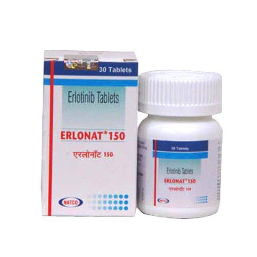 Erlonat 150 Tablet (Erlotinib (150mg) - Natco Pharma Ltd)