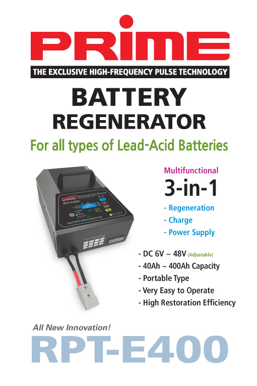 RPT-E400 Battery Regenerator