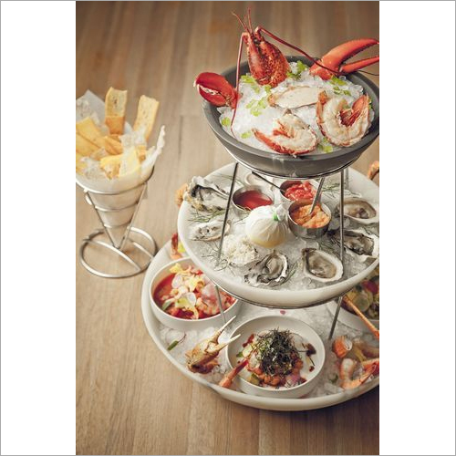 Seafood Serving Tower Set Trays