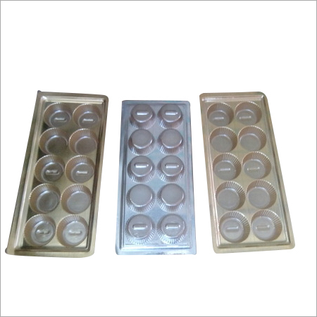 Gold Metallized Apet Tray