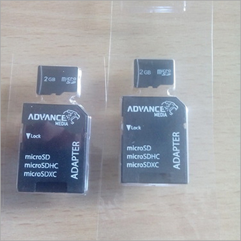 Memory Card Blister Packaging