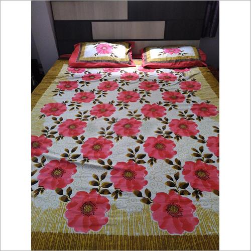 Floral Printed Bed Sheet