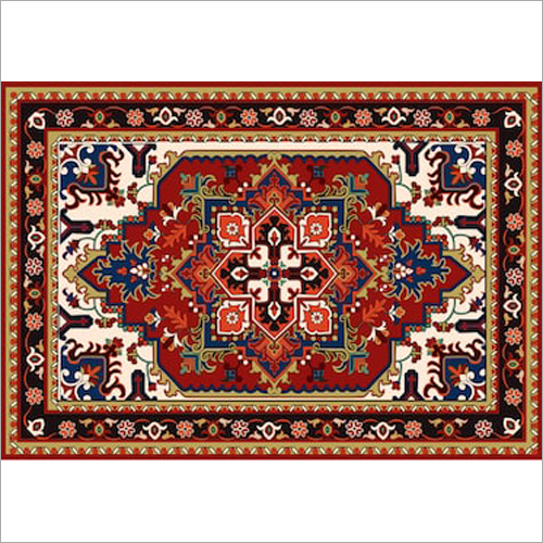Tribal Vector Texture Persian Carpet