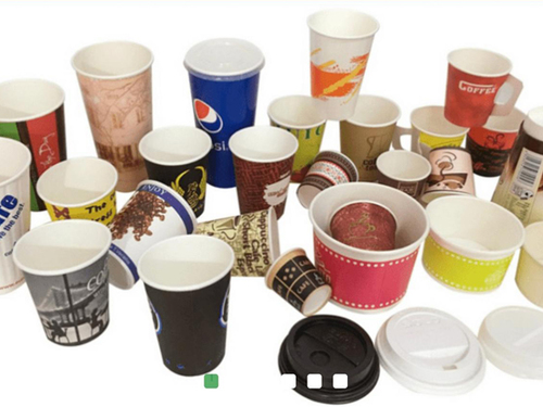 Disposable Paper Cups And Glass