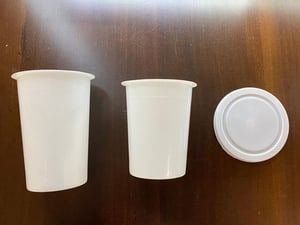200ml - 350ml PP Juice Packaging Containers