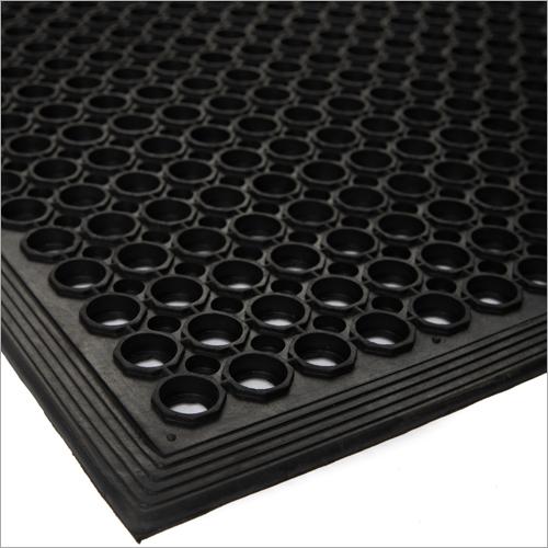 Black Industrial Rubber Mat