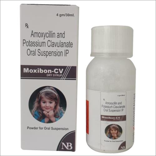 Amoxycillin & Potassium Clvulanate Oral Suspension IP Syrup