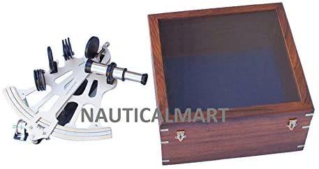 Brass Sextant - Nautical