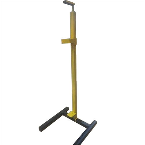 Foot Operated Metal Sanitizer Stand
