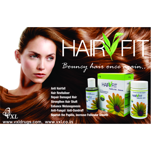 Hair Fit Oil And Capsules