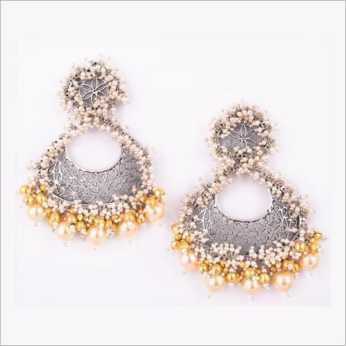 Two Tone Pears Earrings