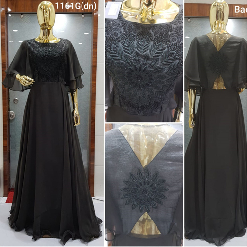 Ladies Designer Gown Dress