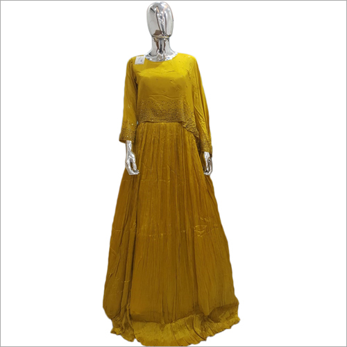 Ladies Ethnic Gown Dress