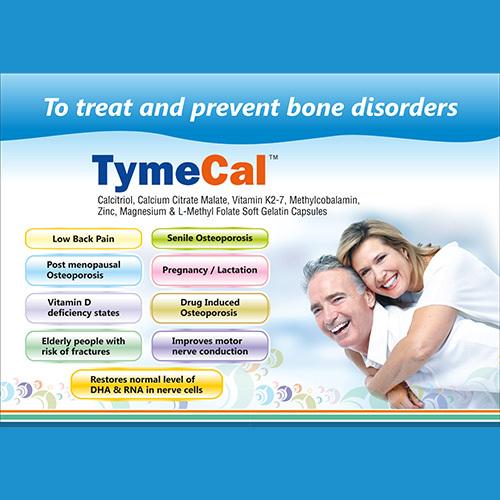 TymeCal Soft Gelatin Capsules