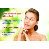 Anti Wrinkle Cream And Face Pack