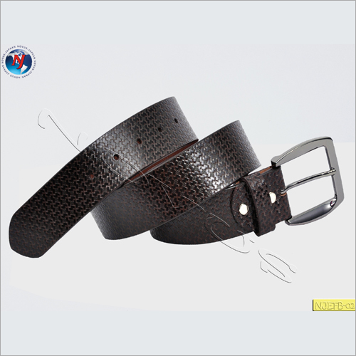 Leather Plain Belt