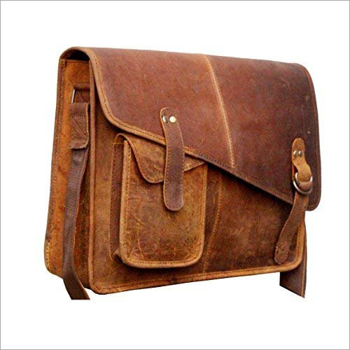 Pure Leather Laptop Messenger Bags