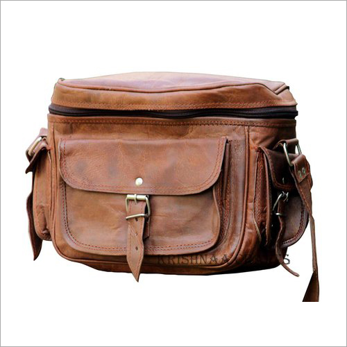 Pure Leather Camera Bag