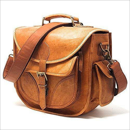 Genuine Leather Camera Bag