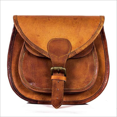 11x15 Inch Leather Sling Bag