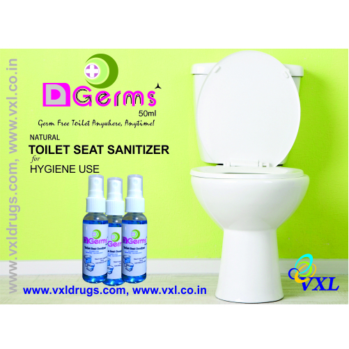 D Germs Liquid Toilet Seat Sanitizer