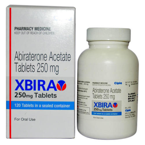 Xbira 250mg Tablet (Abiraterone Acetate (250mg) - Cipla Ltd)