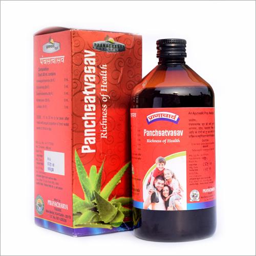 500ml Panchsatvasav Syrup