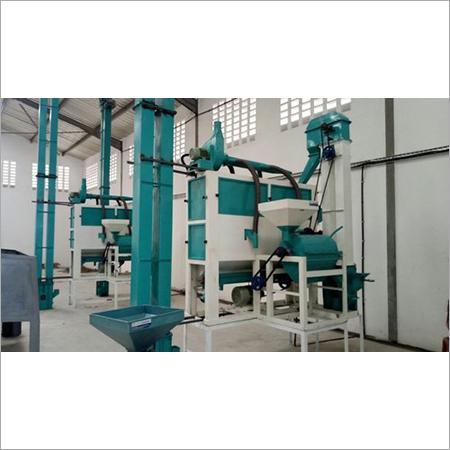 Hitech Dal Mill Mini Plant