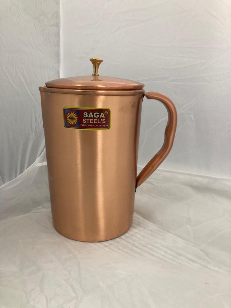 Jug Pure Copper Mat