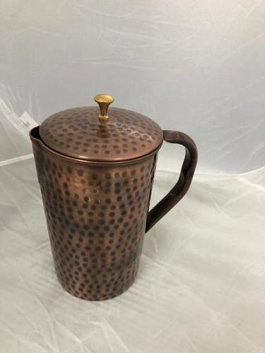 Jug Copper Antique Hammered