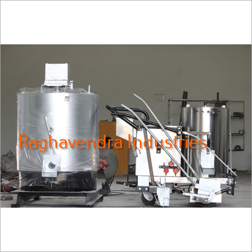 Thermoplastic Mannual Road Marking Machine