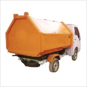 Covered Garbage Tipper