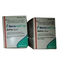 Bevarest 100mg Injection (Bevacizumab (100mg) - Emcure Pharmaceuticals Ltd)