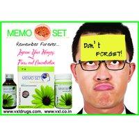 MEMO SET Memory Enhancer Power And Syrup