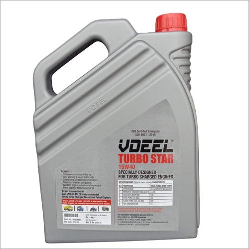 Turbo Star 15 W 40 CF-4, CH-4,CI4 Engine Oil