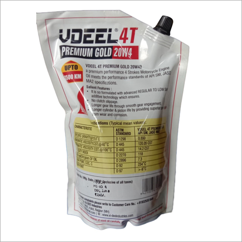 Formula 4T Plus Gold 20W40 Engine Oil
