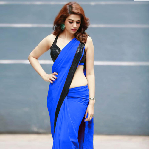 ARADHANA Blue Saree