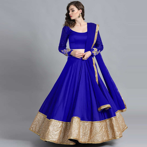 AKSHARA Royal Blue Suit