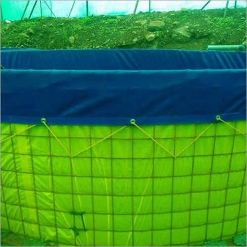 PVC coated fabric bio flock Aquaculture Tank Tarpu
