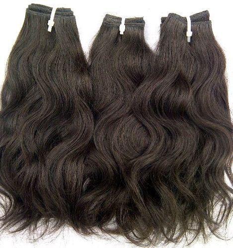 100% Raw Natural Wavy top quality Hair, Vintage hair 100% human hair weaves
