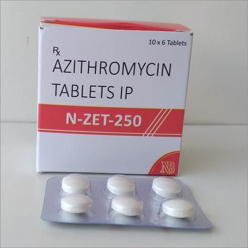 Azithromycin Tablets IP N-Zet-250