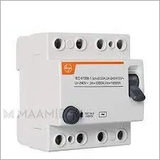 Residual Current Circuit Breaker (RCCB)
