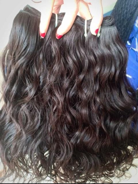 Unprocessed Wavy hair