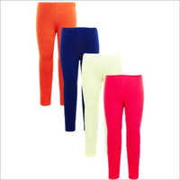 Ladies Plain Leggings