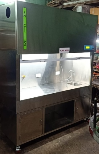 FUME HOOD FULLY S.S. LCD MODEL